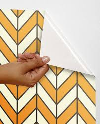 peel and stick vinyl wallpaper geometric self adhesive wallpaper wall decor sticker chevron