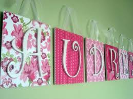 Letter Decorations For Nursery Bedroom Baby Room Name Letters Ideas As Bedroom Decorations