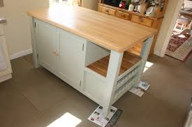 hard maple wood honey windham door stand alone kitchen island