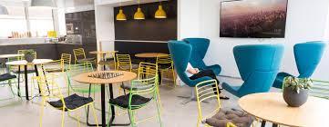 canteen area interior office design penketh group