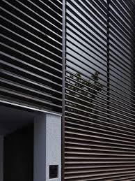 Black Shutter Minimalist House Decorated With Chic Window Shutter Designoursign