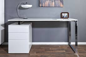 bureau blanc moderne tapis de salle de bain alinea 15 bureau blanc laqu233 chaios wasuk