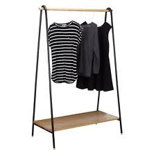 wooden clothes rail ebay