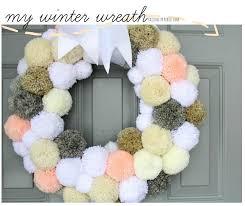 323 best yarn diy images on pom pom wreath pom poms