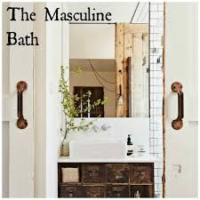 stylish masculine bath design lamps plus