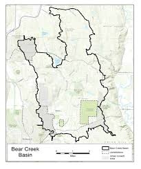 Bear Creek Trail Map Project Area Map King County