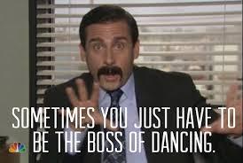Office Boss Meme - the boss of dancing funny the office meme