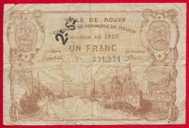 chambre de commerce caen caen et honfleur 50 centimes 1920 1923 fdcollector