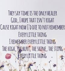 this song is all too true carly pearce every little thing