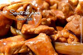 cuisine sucré salé sauté de porc sucré salé petits plats entre amis