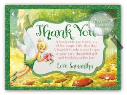 tinkerbell thank you cards di 283ty harrison greetings
