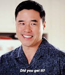 Randall Park S008 Fresh Off The Boat Constance Wu Randall Park Jessica Huang