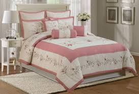 Solid Color Comforters Total Fab Rose Colored Bedding Comforters Sheet Sets U0026 Pillows