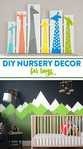 Nursery Decor Diy Nursery Decor For Boys A Craft In Your Day
