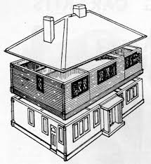 bungalow two section series modelcraft ltd designs for dolls houses and dolls house furniture