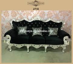 Black Fabric Sofa Sets Black Velvet Sofa Set Black Velvet Sofa Set Suppliers And