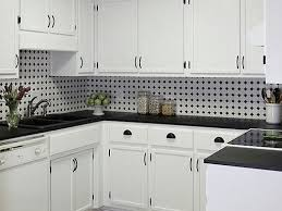 pictures of kitchen backsplashes with white cabinets black white mosaic backsplash with white cabinets zach hooper
