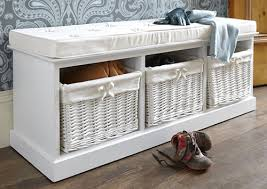 Shoe Storage Bench 3 Basket Bench Shoe Cupboards Shoe Storage Benches Shoe Cabinets