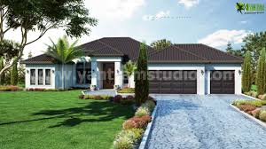 exterior small house concept design by architectural visualization