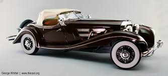 mercedes 500k 1934 mercedes 500k special roadster diecast model legacy motors