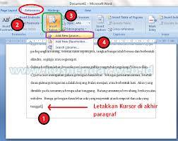 cara membuat garis pada daftar isi makalah cara membuat daftar pustaka otomatis di word 2007 2010 lebih cepat