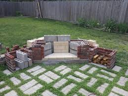 Building Outdoor Fireplace With Cinder Blocks by 6 Weeks To An Outdoor Fireplace Here We Go Project Showcase