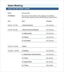 sample meeting agenda format free meeting agenda template sample