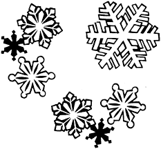 b u0026w clipart snowflake pencil and in color b u0026w clipart snowflake