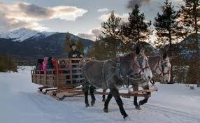 sleigh rides where to find a real sleigh ride near you