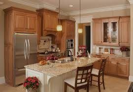 Kitchen With Maple Cabinets Carlton Raised Panel Cabinet Door Style