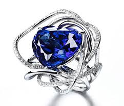 blue rings jewelry images 1727 best all things tanzanite images crystals jpg