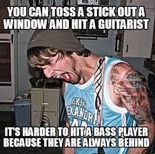 Bass Player Meme - meme creator guitar meme generator at memecreator org
