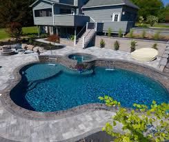 showcase in ground pool designs precision pool and spa