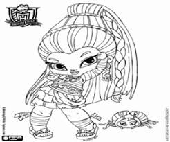 monster high chibi coloring pages high baby coloring pages printable games