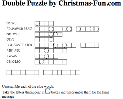 free printable christmas word scramble fun 503633 coloring pages