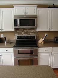 backsplash behind stove ideas home design ideas