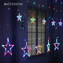 Curtain Christmas Lights Indoors Online Get Cheap Christmas Lights Star Aliexpress Com Alibaba Group