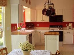 Red Colour Kitchen - stylish white kitchen cabinets with red walls my home design journey