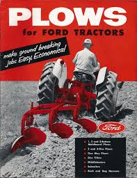 1956 ford 960 tractor original color ad manuals pinterest