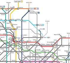 kansas city metro map map of the week some excellent subway inspired maps