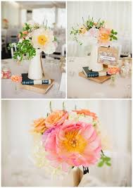 Coral Wedding Centerpiece Ideas by Coral Wedding Bouquets Archives Passion For Flowers Blog