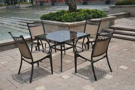 Oval Wrought Iron Patio Table Cast Aluminum Patio Furniture Manufacturers
