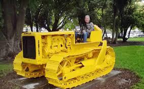 fresh look for historic bulldozer christchurch city council