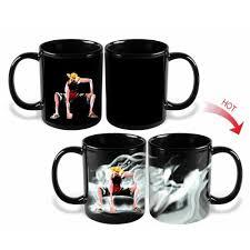 Heated Coffee Mug by Amazon Com Anime One Piece Luffy Changing Coffee Mug Heat