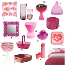 Home Accent Decor Accessories by Color Pop Pink Home Accessories Decor Design Necessities