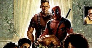 deadpool 2 poster brings everyone to the table movieweb