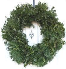 plain fraser fir wreaths decorat