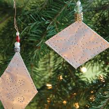 try this tree jewels handmade aluminum ornaments