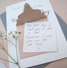 card to groom from on wedding day to my groom wedding day card shop online hummingbird card company