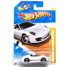 Porsche Boxster Model Car - amazon com porsche boxster spyder in white wheels 2012 new